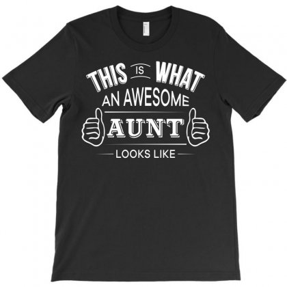 Aunt T Shirt   Awesome Aunt Funny Tee T-shirt Designed By Hung