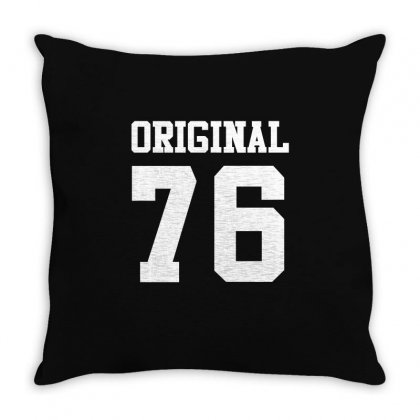 40th Birthday Gift 40 Year Old Kid Shirt 1976 Boy Girl Tee Throw Pillow Designed By Hung