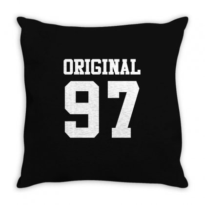 19th Birthday Gift 19 Year Old Kid Shirt 1997 Boy Girl Tee Throw Pillow Designed By Hung