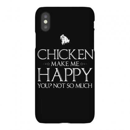 Chickens Make Me Happy T Shirts Gifts For Chicken Lovers Iphonex Case Designed By Hung
