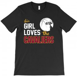 sports this girl loves cava liers basketball tshirt T-Shirt | Artistshot