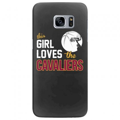Sports This Girl Loves Cava Liers Basketball Tshirt Samsung Galaxy S7 Edge Case Designed By Hung