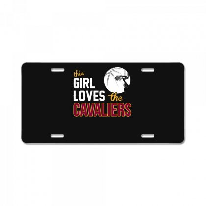 Sports This Girl Loves Cava Liers Basketball Tshirt License Plate Designed By Hung