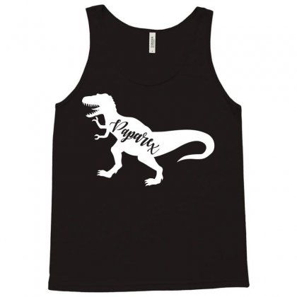 Papa Rex Tank Top Designed By Artees Artwork