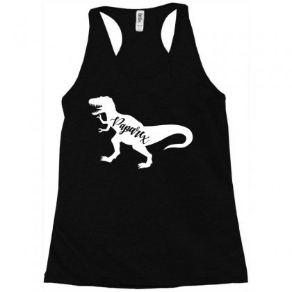 Papa Rex Racerback Tank Designed By Artees Artwork