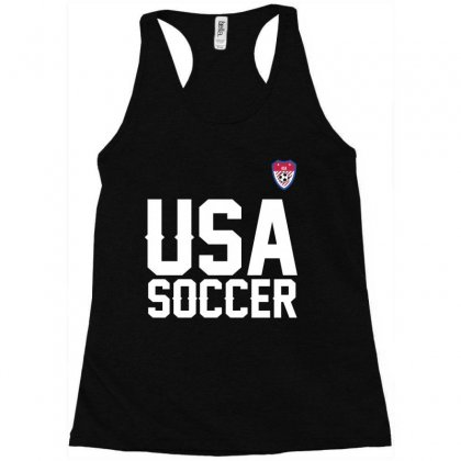 Usa Soccer T Shirt Racerback Tank Designed By Hung