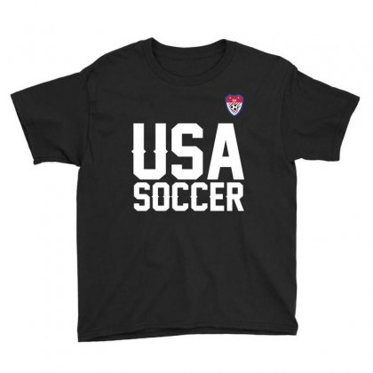 Usa Soccer T Shirt Youth Tee Designed By Hung