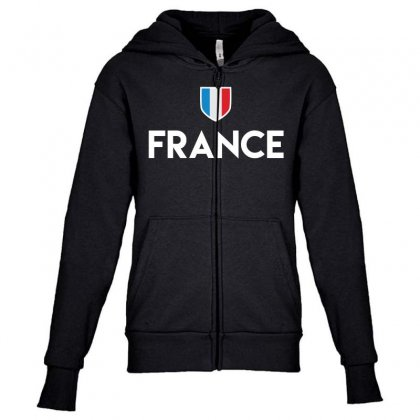 France Soccer T Shirt 2016 Football Team Jersey French Flag Youth Zipper Hoodie Designed By Hung