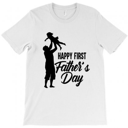 Happy First Father's Day! T-shirt Designed By Tiococacola