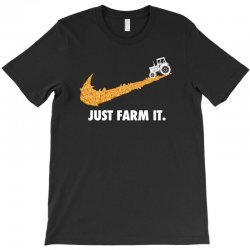 just farm it for dark T-Shirt | Artistshot