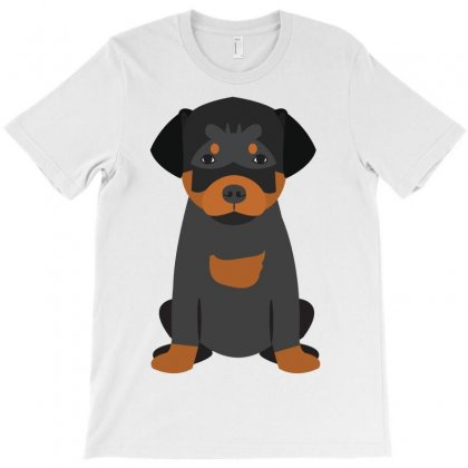 Rottweiler Puppy T-shirt Designed By Tiococacola
