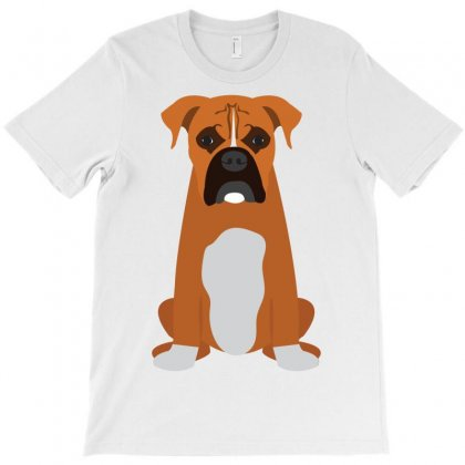 Boxer Adult T-shirt Designed By Tiococacola