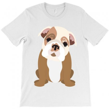 Bulldog Puppy T-shirt Designed By Tiococacola