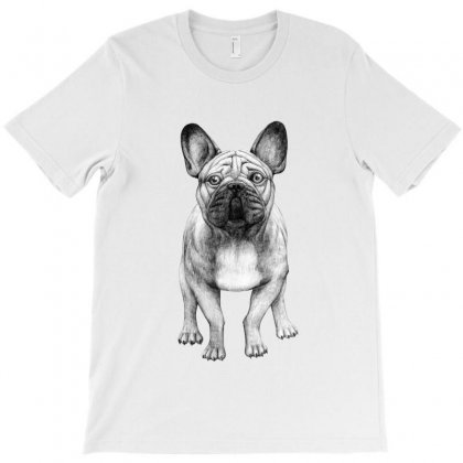 French Bulldog (dogs) T-shirt Designed By Tiococacola
