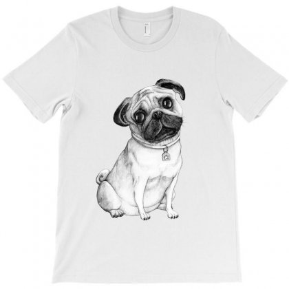 Pug (dogs) T-shirt Designed By Tiococacola
