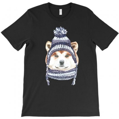 Husky Is Cold (dog) T-shirt Designed By Tiococacola