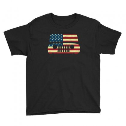 American Flag T Shirt Usa T Shirt American Flag Gift Tee Youth Tee Designed By Hung