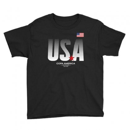 America Usa T  Shirt Youth Tee Designed By Hung