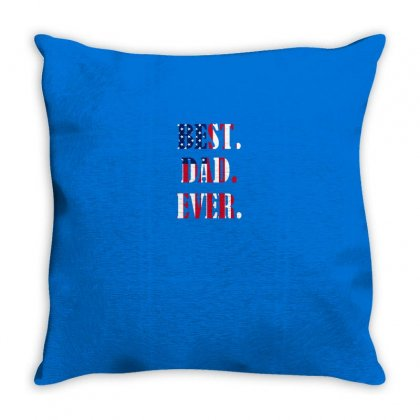 Best Dad Ever Throw Pillow Designed By Anrora