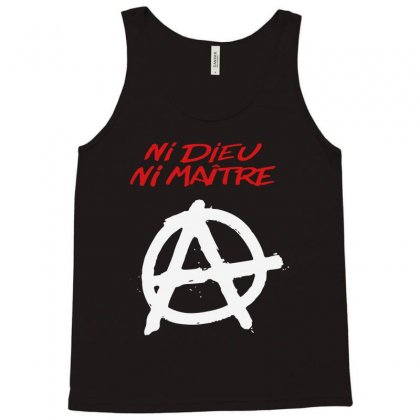 Ni Dieu Ni Maître Tank Top Designed By Blqs Apparel