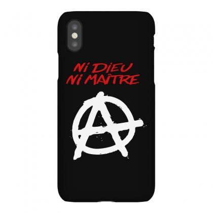 Ni Dieu Ni Maître Iphonex Case Designed By Blqs Apparel