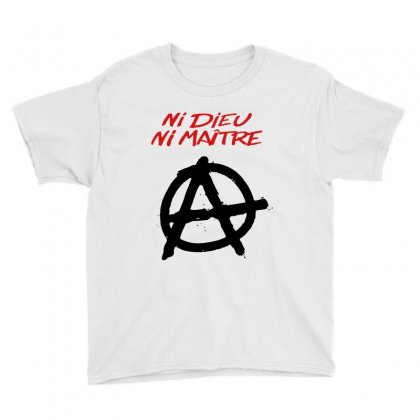 Ni Dieu Ni Maître Youth Tee Designed By Blqs Apparel