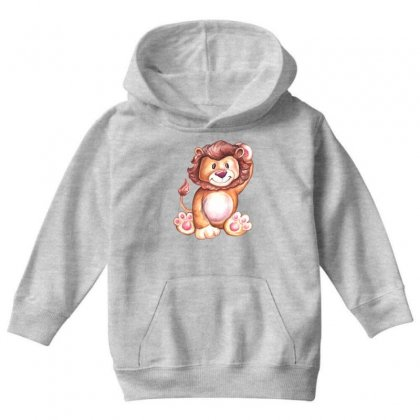 Lion King Youth Hoodie Designed By Tiococacola