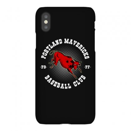 Portland Mavericks Baseball Club Iphonex Case Designed By Blqs Apparel