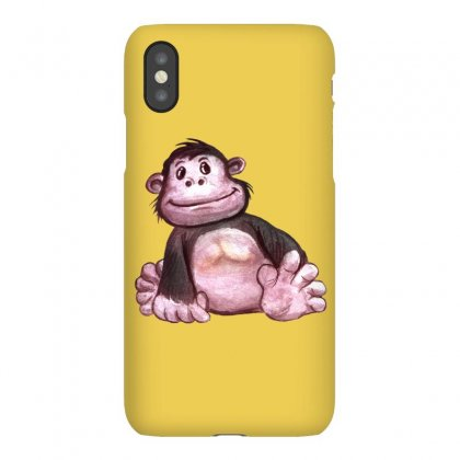 Gorilla's Baby Iphonex Case Designed By Tiococacola
