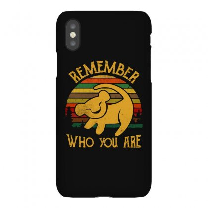 Remember Who You Are Quote Iphonex Case Designed By Blqs Apparel