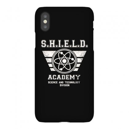 Shield Academy In White Iphonex Case Designed By Blqs Apparel