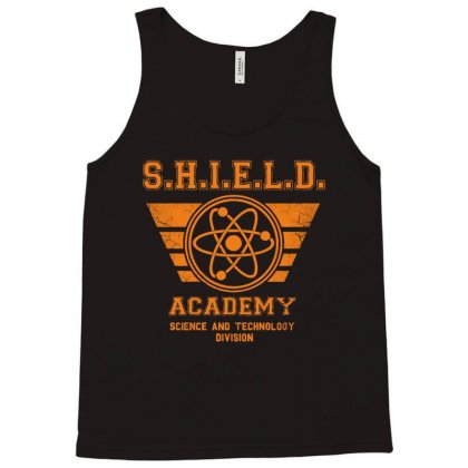 Shield Academy In Yellow Tank Top Designed By Blqs Apparel