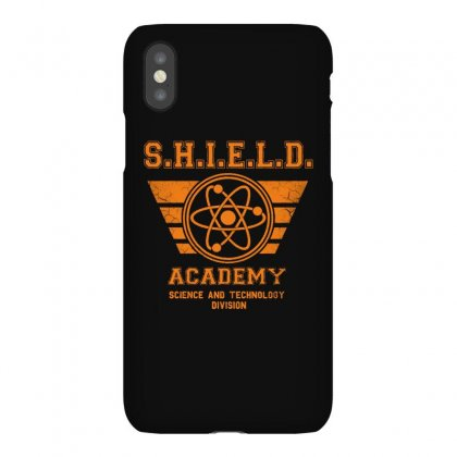 Shield Academy In Yellow Iphonex Case Designed By Blqs Apparel