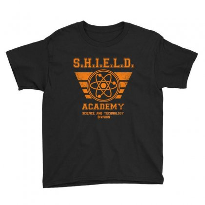 Shield Academy In Yellow Youth Tee Designed By Blqs Apparel