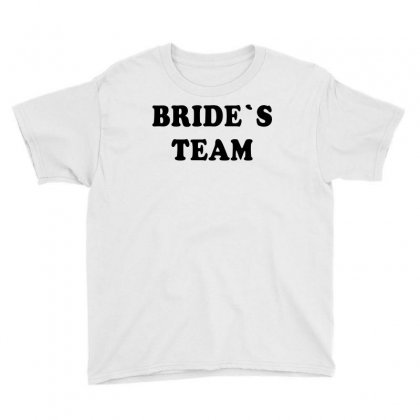 Bride's Team Youth Tee Designed By Artees Artwork