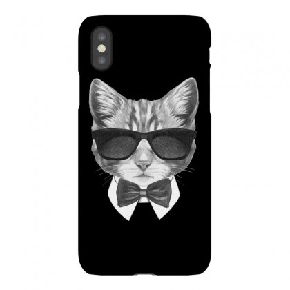 Bond Cat Iphonex Case Designed By Tiococacola