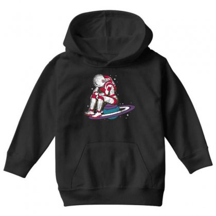 Sit On The Planet Youth Hoodie Designed By Blqs Apparel