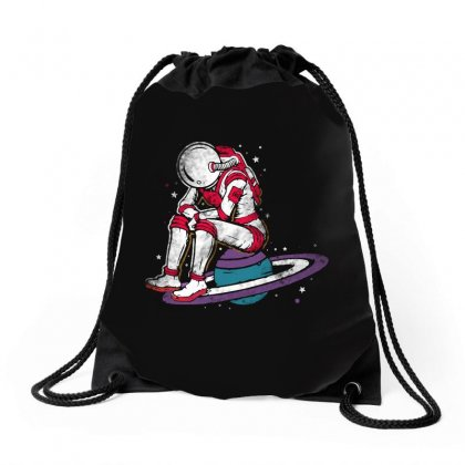 Sit On The Planet Drawstring Bags Designed By Blqs Apparel