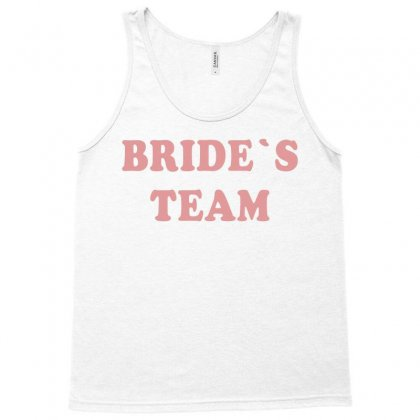 Bride's Team Tank Top Designed By Artees Artwork