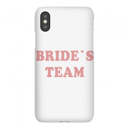Bride's Team Iphonex Case Designed By Artees Artwork