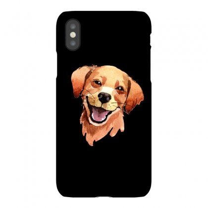 Happy Dog Iphonex Case Designed By Tiococacola