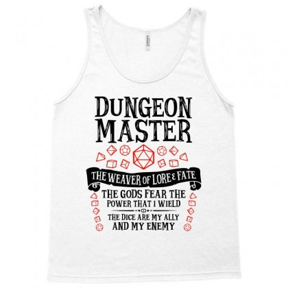The Weaver Of Lore & Fate   Dungeons & Dragons Tank Top Designed By Blqs Apparel