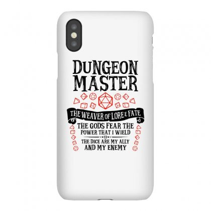 The Weaver Of Lore & Fate   Dungeons & Dragons Iphonex Case Designed By Blqs Apparel