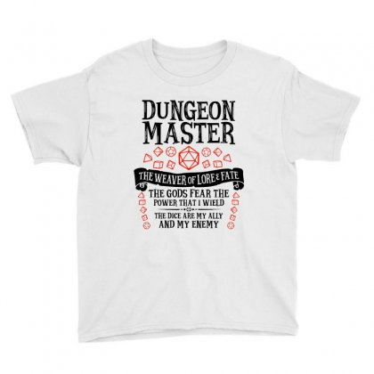 The Weaver Of Lore & Fate   Dungeons & Dragons Youth Tee Designed By Blqs Apparel