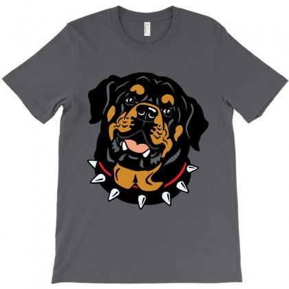Rottweiler (dog) T-shirt Designed By Tiococacola