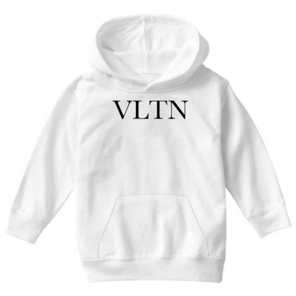 Valentino Youth Hoodie Designed By Blqs Apparel
