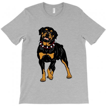 Rottweiler Protection (dog) T-shirt Designed By Tiococacola