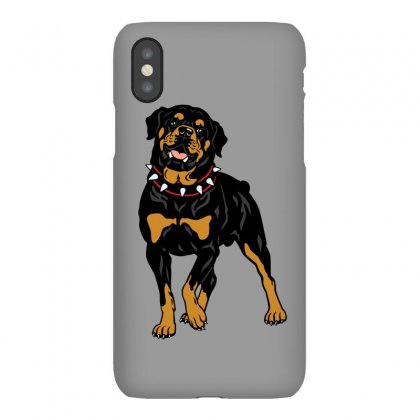 Rottweiler Protection (dog) Iphonex Case Designed By Tiococacola