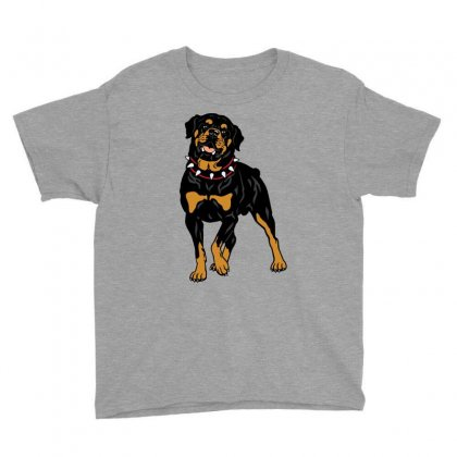 Rottweiler Protection (dog) Youth Tee Designed By Tiococacola