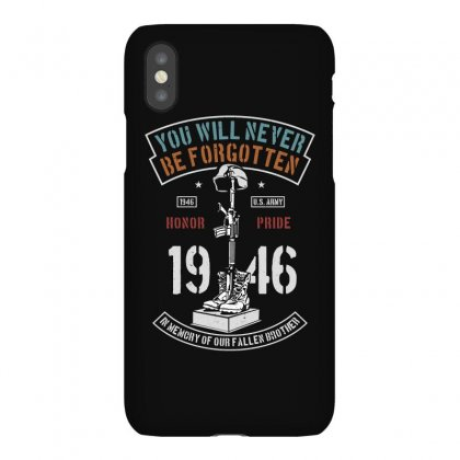 You Will Never Be Forgotten Iphonex Case Designed By Blqs Apparel